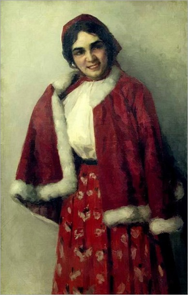 Ivan Goryushkin-Sorokopudov_portrait of a girl