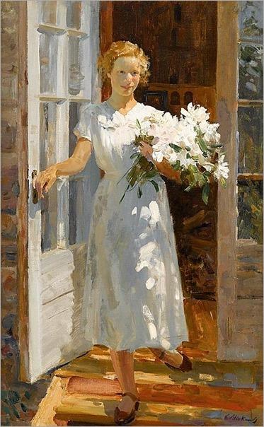KONSTANTIN MEFODEVICH MAKSIMOV (russian 1913-1993)-GRADUATE