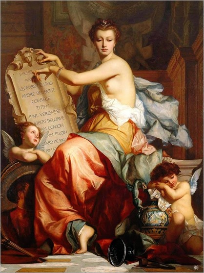 La Renaissance. Charles Zacharie Landelle (French, 1821-1908)