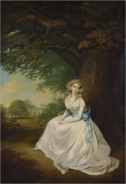 Lady Chambers - Arthur William Dervis (english painter)