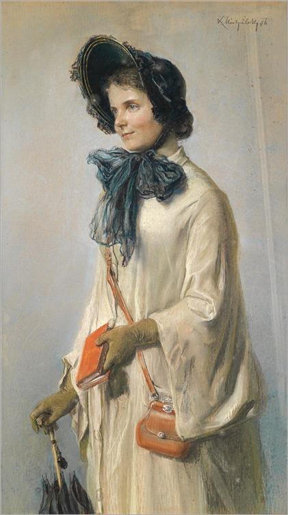 Ludwig Michalek (1859-1942) -Auf der Reise