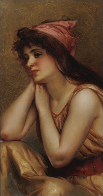 Luis Ricardo Faléro (1851 - 1896) - A moment's pause