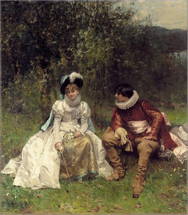 Moreau, Adrien - The Courtship