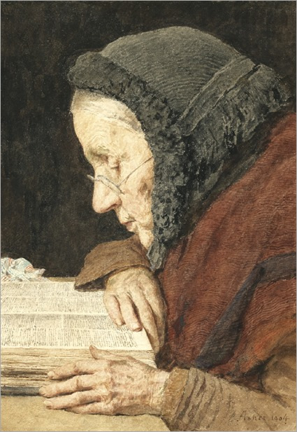 old-woman-reading-the-bible-Albert-Anker