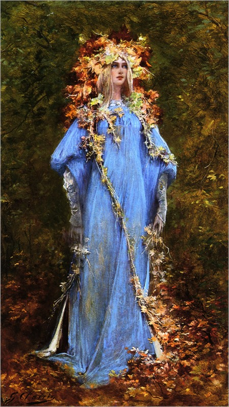 Ophelia - Georges Jules Victor Clairin