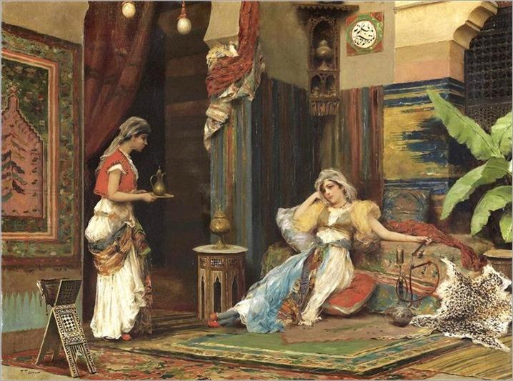 Oriental women Fabio Fabbi (italian,1861 - 1946)