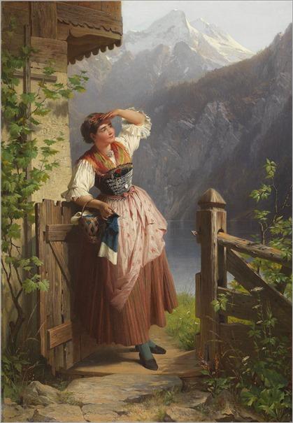 Peter Baumgartner(German, 1834-1911)