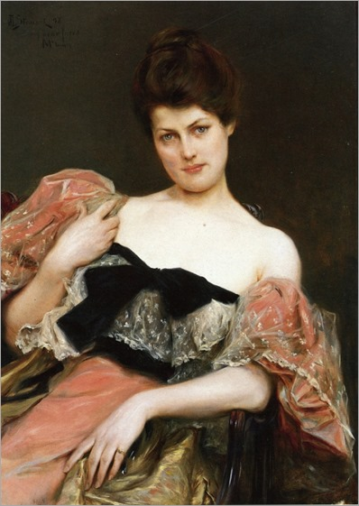 portrait-of-a-lady-1892-julius leblanc stewart