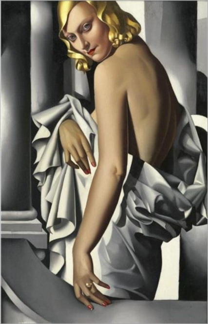Portrait of Marjorie Ferry - Tamara de Lempicka (polish painter)