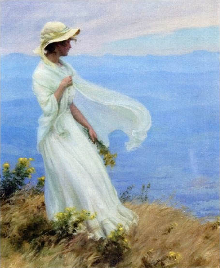september afternoon_Charles Courtney Curran