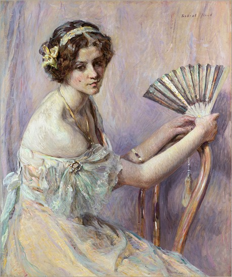 The Pearl Fan - Robert Reid (american painter)