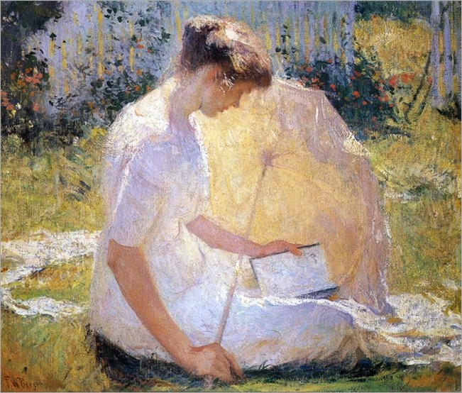 the reader_Frank Weston Benson