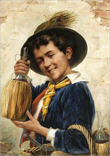 THE YOUNG CHIANTI SELLER-Gerard Portielje