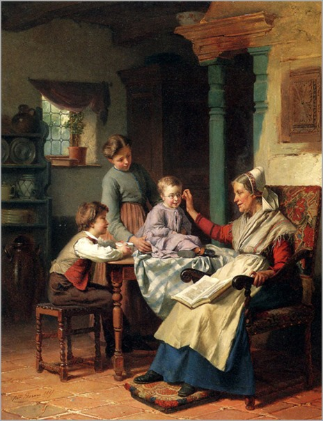 trying_on_grandmothers_spectacles-theodore gerard