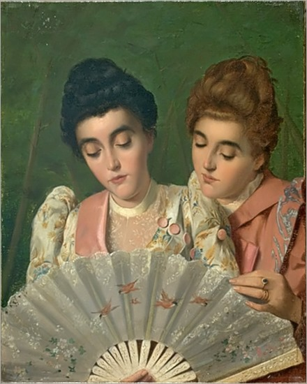 two ladies_Gaetano Bellei - Date unknown
