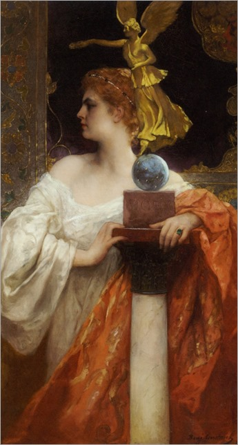Victory by Jean-Joseph Benjamin-Constant (French, 1845-1902).