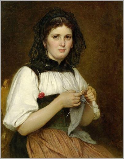 6.Benjamin Vautier (swiss, 1829-1898)