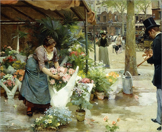 a-flower-market-in-paris-louis-de-schryver