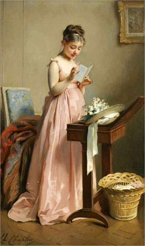 Charles Joshua Chaplin - The letter