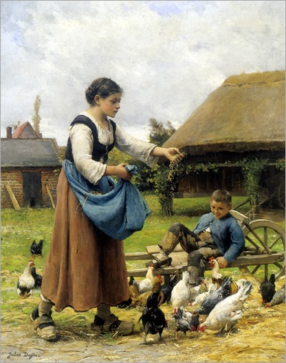 Dupre_Julien_In_The_Farmyard