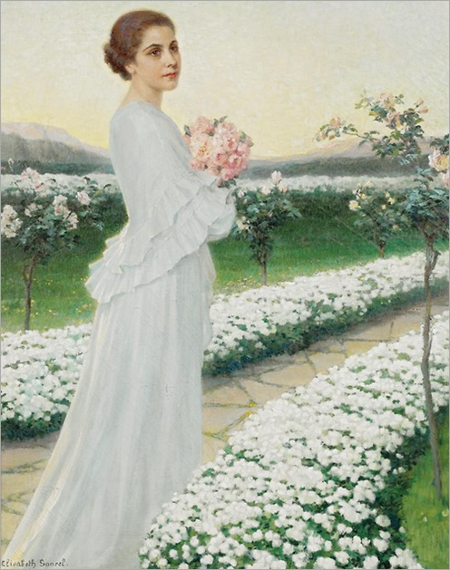 Elisabeth Sonrel (1874 - 1953) - An evening in May