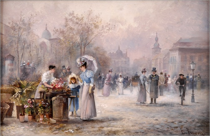 Emil-Barbarini-The-Flower-Market