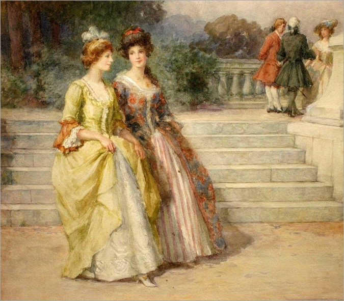 George Sheridan Knowles (english, 1863-1931) - An Afternoon Stroll