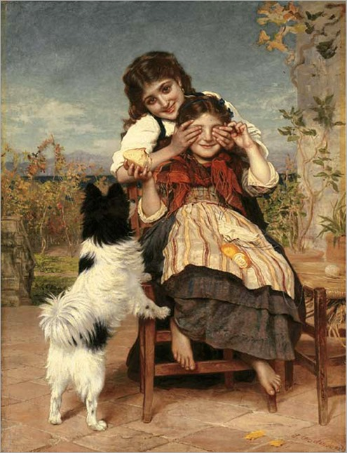 Guess Again - Sophie Gengembre Anderson
