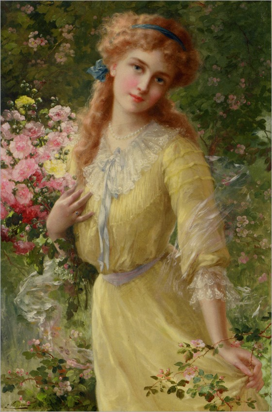 In the Garden (1910). Emile Vernon (French, 1872-1919)