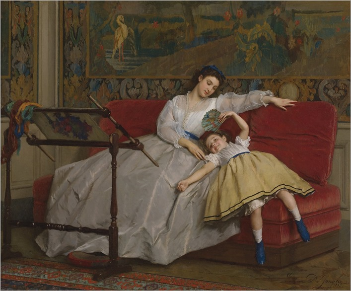 mother-and-his-young-daughter-DE_JONGHE