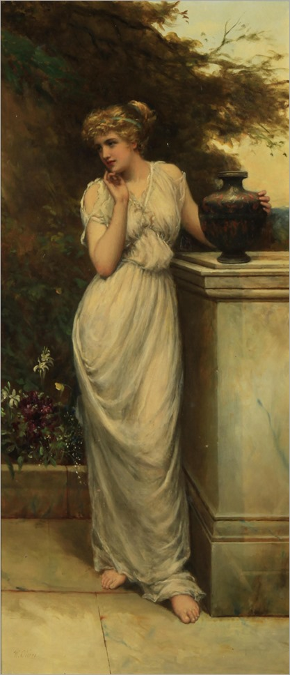 on the terrace_William Oliver