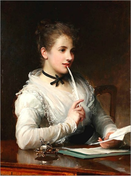 Samuel Luke Fildes - The Love Letter