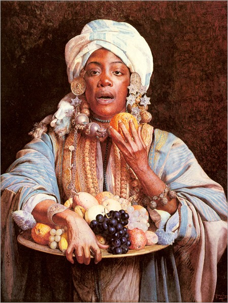 Signorini_Giuseppe_A_North_African_Fruit_Vendor