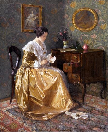 The Love Letter. Karl Maria Schuster (Austrian, 1871-1953)