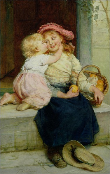 the-orange-seller-frederick-morgan