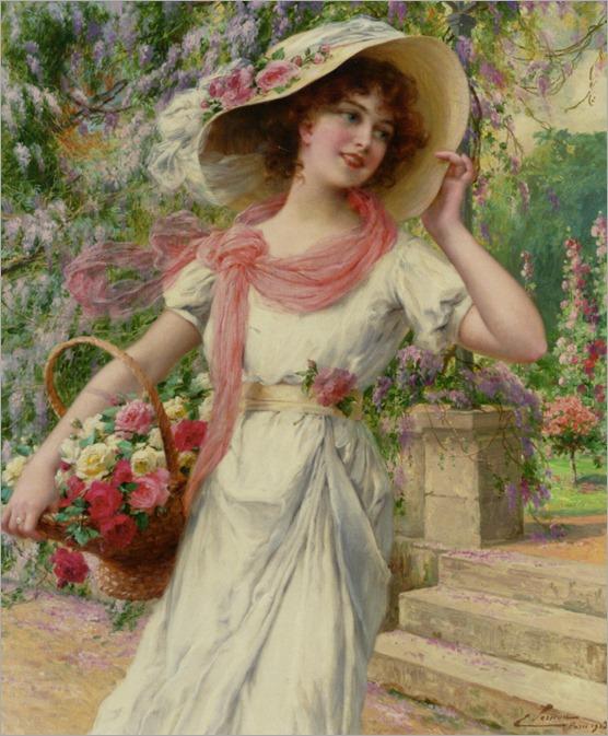 Vernon_Emile_The_Flower_Garden_1915_