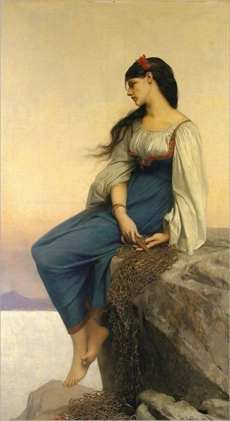 Graziella by Jules Joseph Lefebvre (1836-1911)