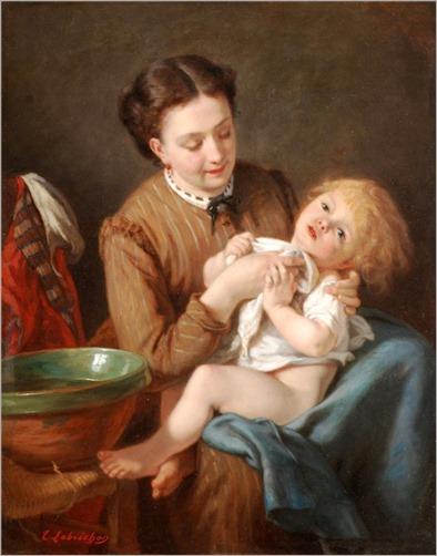 5Timoleon Marie Lobrichon (french, 1831-1914)
