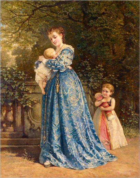 Cesare Felix Georges dell' Acqua (Italian, 1821-1904)