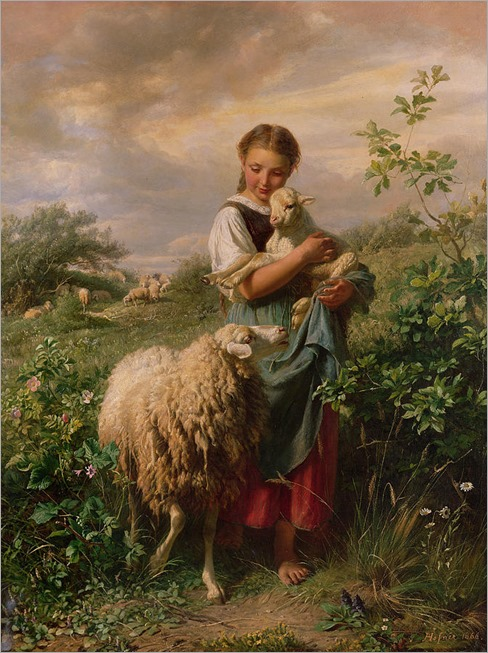 the-shepherdess-johann-baptist-hofner