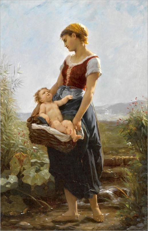 10Timoleon Marie Lobrichon (french, 1831-1914)