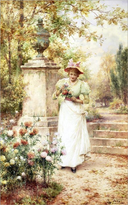 25.ALFRED AUGUSTUS GLENDENING, JNR (BRITISH 1861-1907)