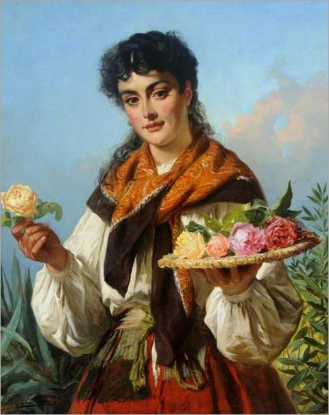 6.EDWARD CHARLES BARNES (BRITISH,1830-1882)