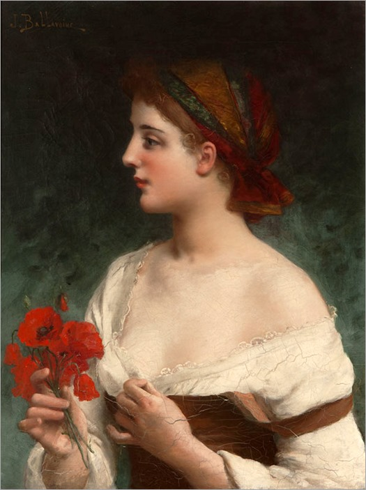 9.JULES FREDERIC BALLAVOINE (french, 1855-1901)