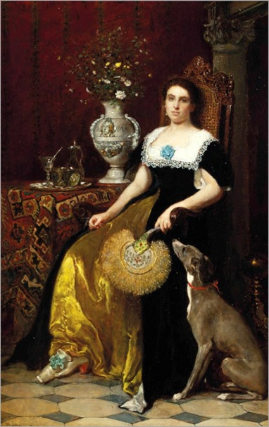 A Faithful Friend - Antoine Emile Plassan