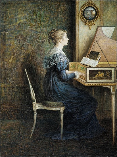 An_Old_Song_William John Hennessy