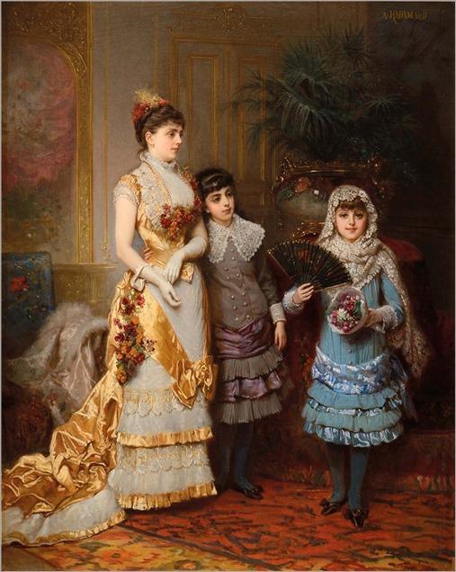 Auguste Hadamard (french, 1823-1886)