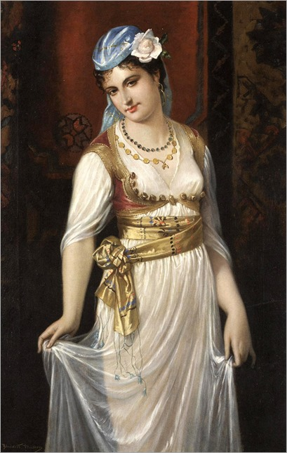 Benedict Masson (1819-1893) - Odalisca