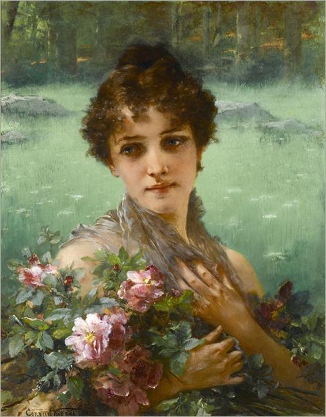 Conrad kiesel (1846 1921) the wild roses