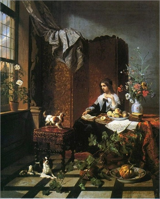 david_de_noter_lady with dogs